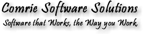 ComrieSoftware.com: Software that Works the Way you Work.